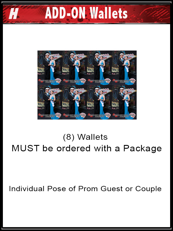 PACKAGE H ADD ON PROM